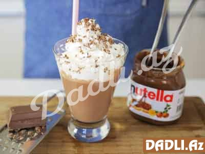 Nutellalı Milkshake resepti - Video resept