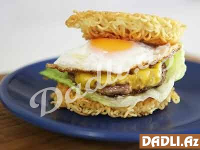 Ramen burger resepti - Video resept