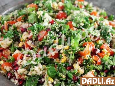 Tabule salatı resepti - Video resept