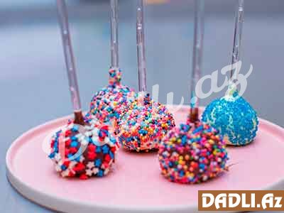 Cakepop resepti - Video resept