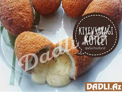 Kiyevsayağı kotlet resepti - Video resept